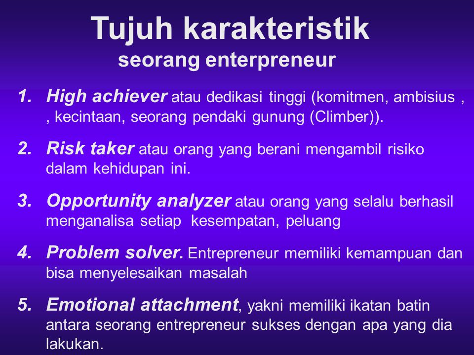 Langkah Ke Empat Merencanakan Usaha Proses kewirausahaan adalah proses untuk mencipatkan usaha baru (enterprenurial process: The process through which a new venture is created by an enterprenur).Pada prinsipnya ada empat langkah yang harus dilalui oleh seorang wirausaha, yaitu 1.Identifikasi dan evaluasi peluang usaha (Identification and evaluation of opprotunity: Opportunity identification is: the process by which an entrepeneur comes up with teh opportunity for a new venture).