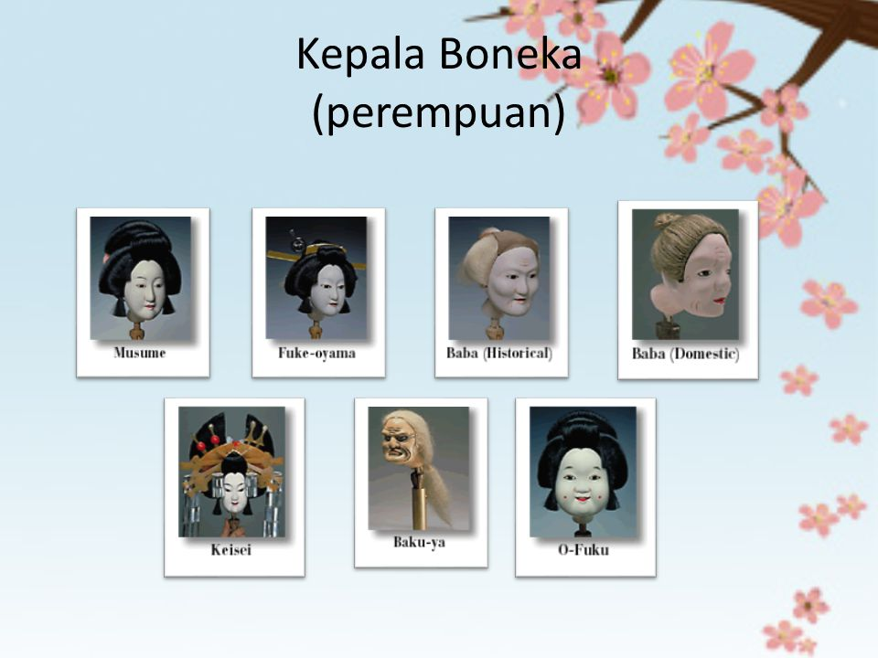 Kepala Boneka (perempuan)