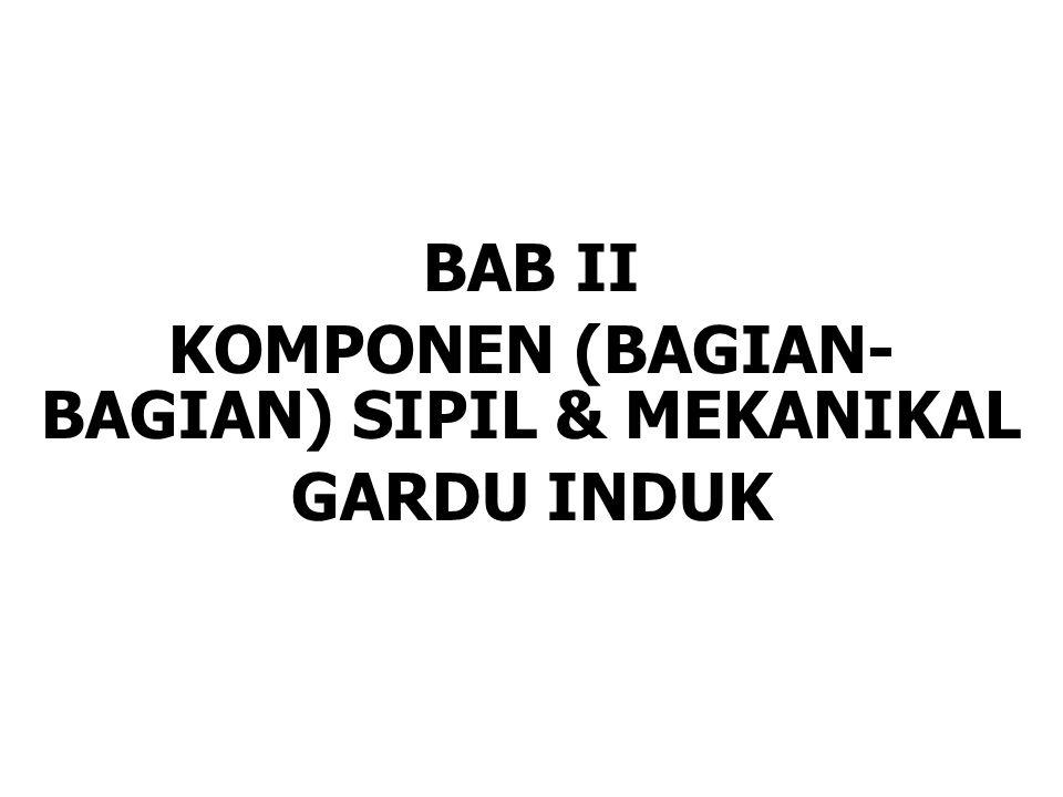 BAB II KOMPONEN (BAGIAN- BAGIAN) SIPIL & MEKANIKAL GARDU INDUK