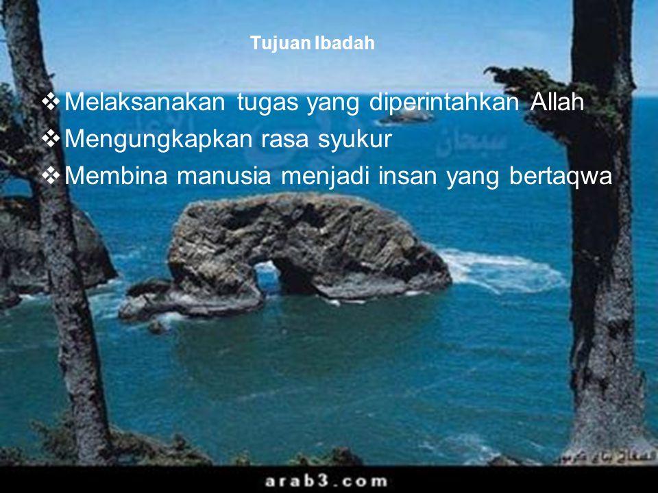 47 Tujuan Hukum Islam 1.Memelihara Agama.