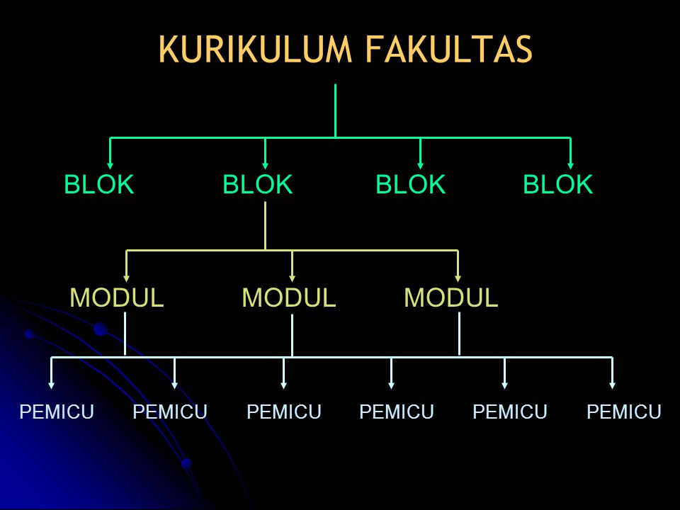 KURIKULUM FAKULTAS BLOK MODUL PEMICU