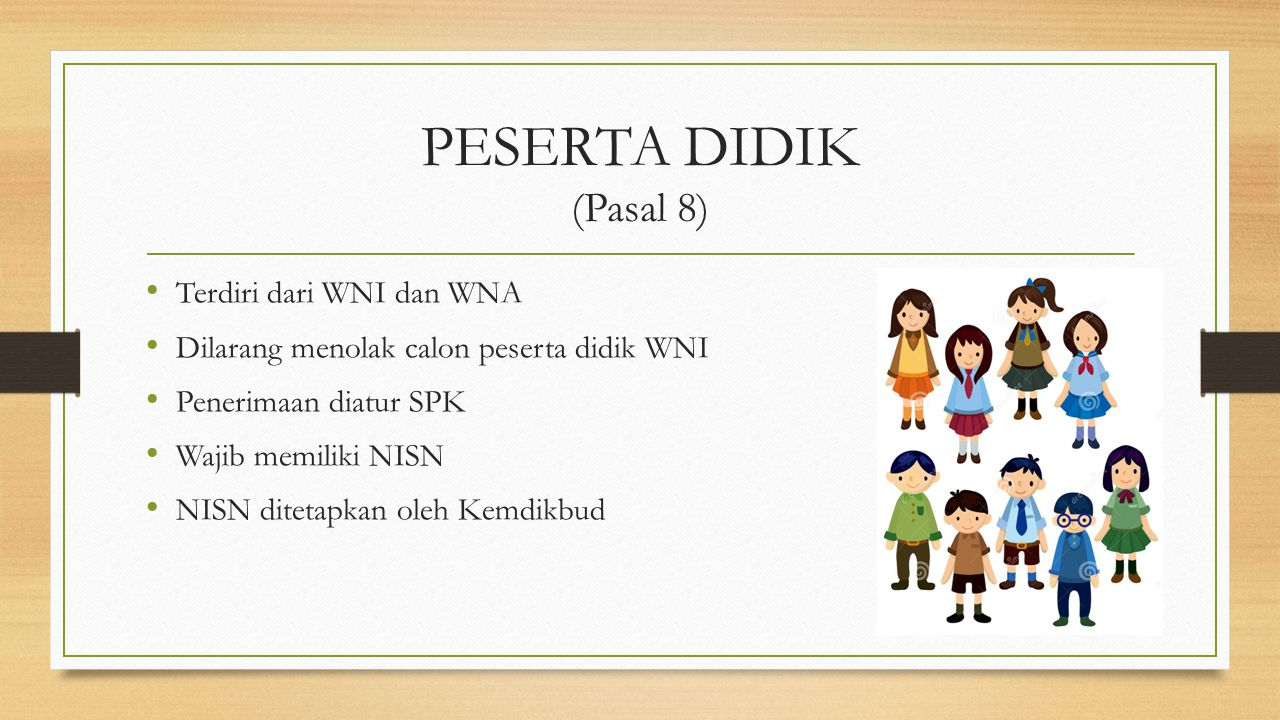 PEMRAKARSA (Pasal 20) Satuan pendidikan di Indonesia dengan Satuan pendidikan asing yang diakui di negaranya