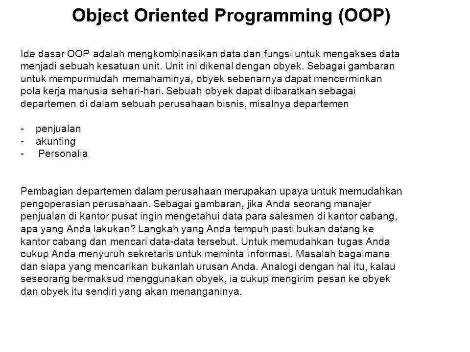Program C++ Program C++ dapat dibuat menggunakan sebarang editor teks maupun editor sekaligus compilernya.