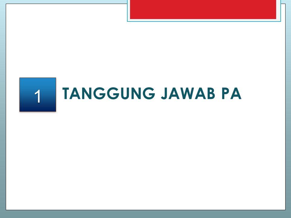 TANGGUNG JAWAB PA 1 1