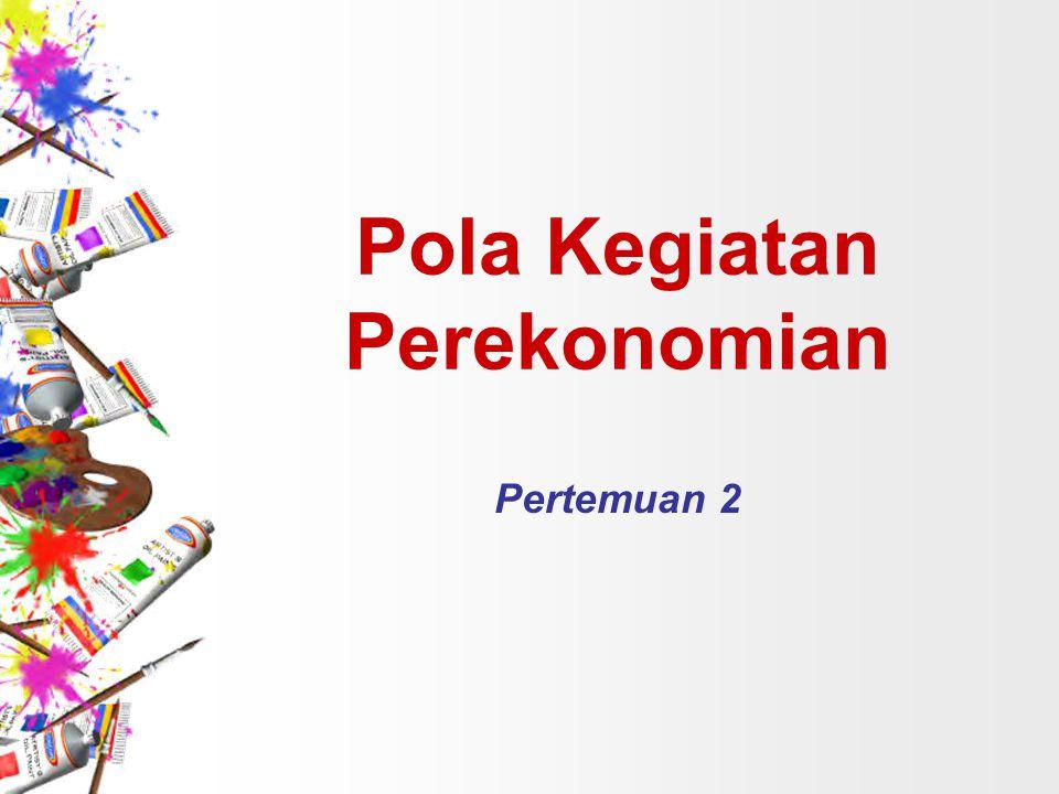 Pola Kegiatan Perekonomian Pertemuan 2