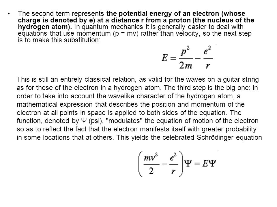 Why doesn t the electron fall into the nucleus.