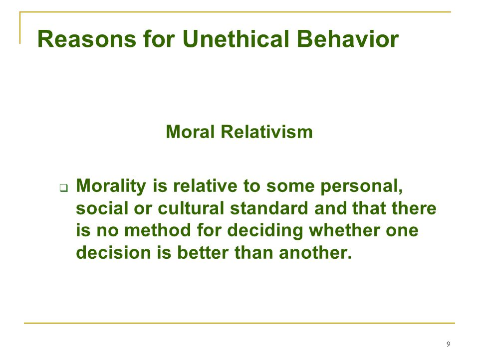 10 Social Responsibility Kohlberg's Levels of Moral Development  Preconventional Level – Concern for self  Conventional Level – Consideration of laws and norms  Principled Level – Adherence to internal moral code