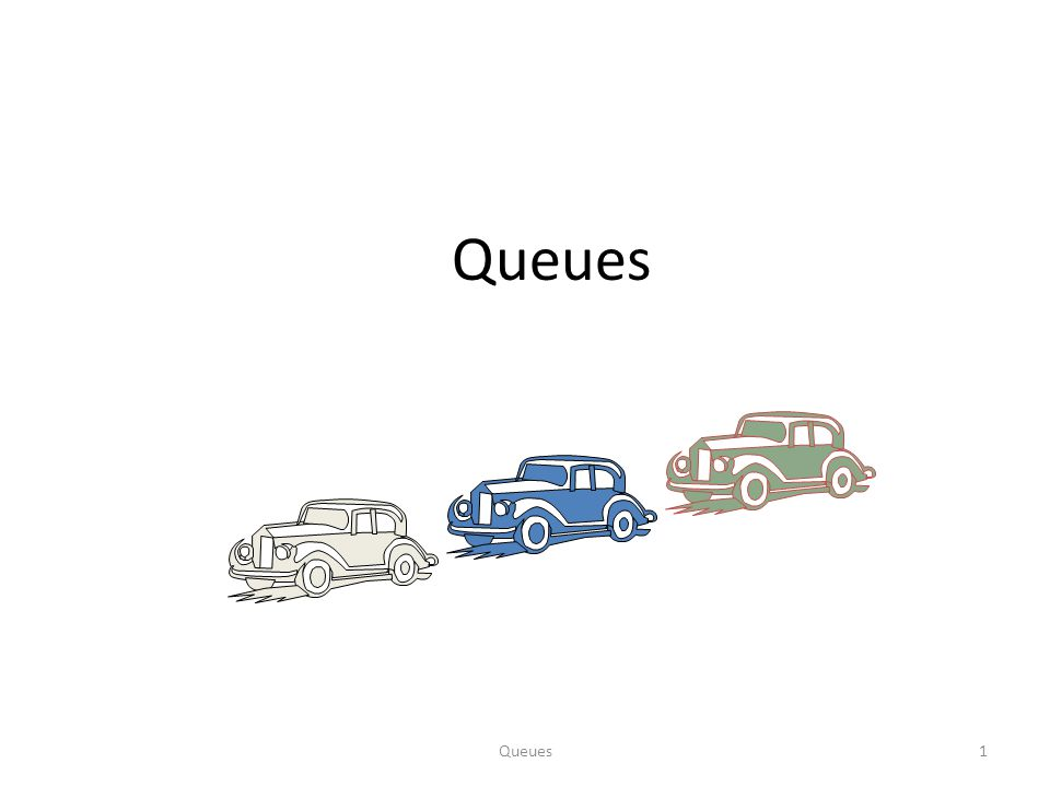 Queues12 Queue Operations (cont.) Operation dequeue throws an exception if the queue is empty This exception is specified in the queue ADT Algorithm dequeue() if isEmpty() then throw EmptyQueueException else o  Q[f] f  (f + 1) mod N return o Q 012rf Q 012fr