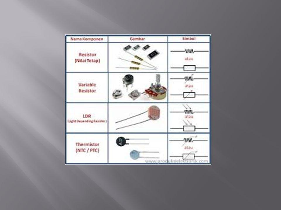  Sistem Kode Warna 5 Pita  Sistem kode warna ini banyak digunakan pada resistor presisi.