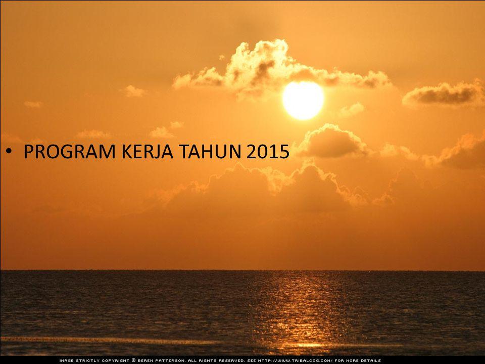 PROGRAM KERJA TAHUN 2015
