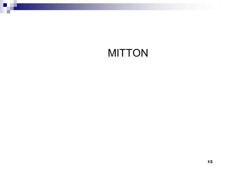 13 MITTON