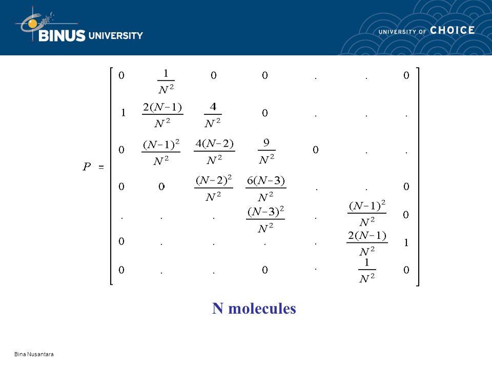 Bina Nusantara N molecules