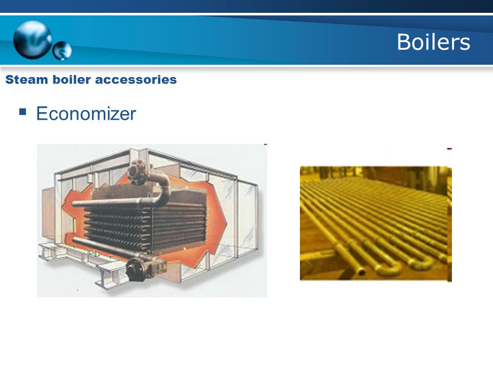 Boilers Steam boiler accessories  Economizer