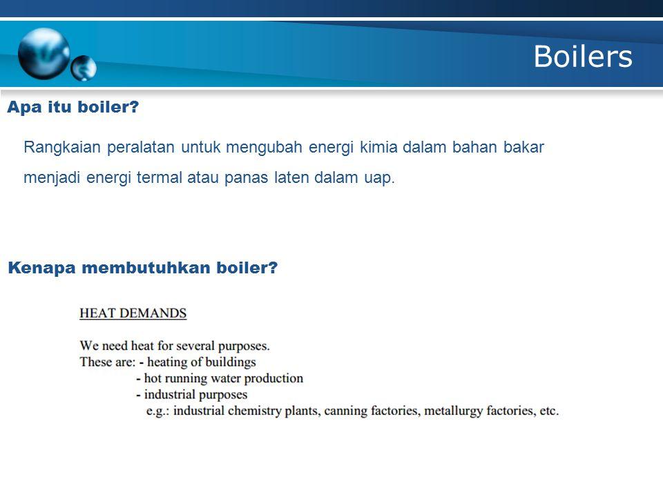 Apa itu boiler? Kenapa membutuhkan boiler? Rangkaian peralatan untuk mengubah energi kimia dalam bahan bakar menjadi energi termal atau panas laten da
