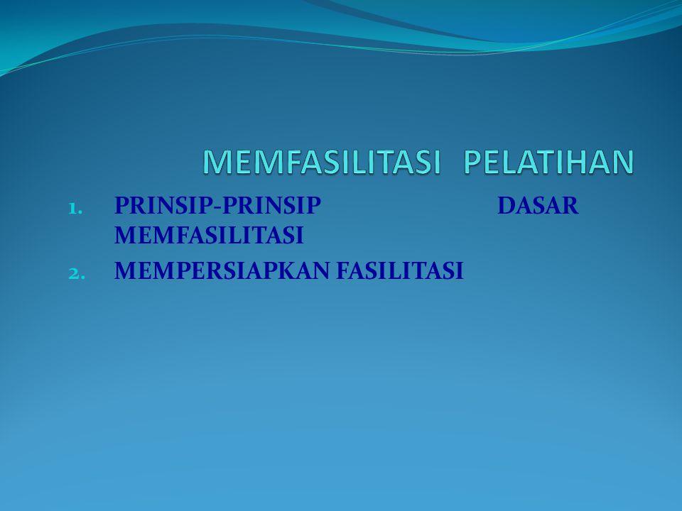 1.TEKNIK KOMUNIKASI DALAM FASILITASI 2. TEKNIK MEMBERIKAN UMPAN BALIK 3.