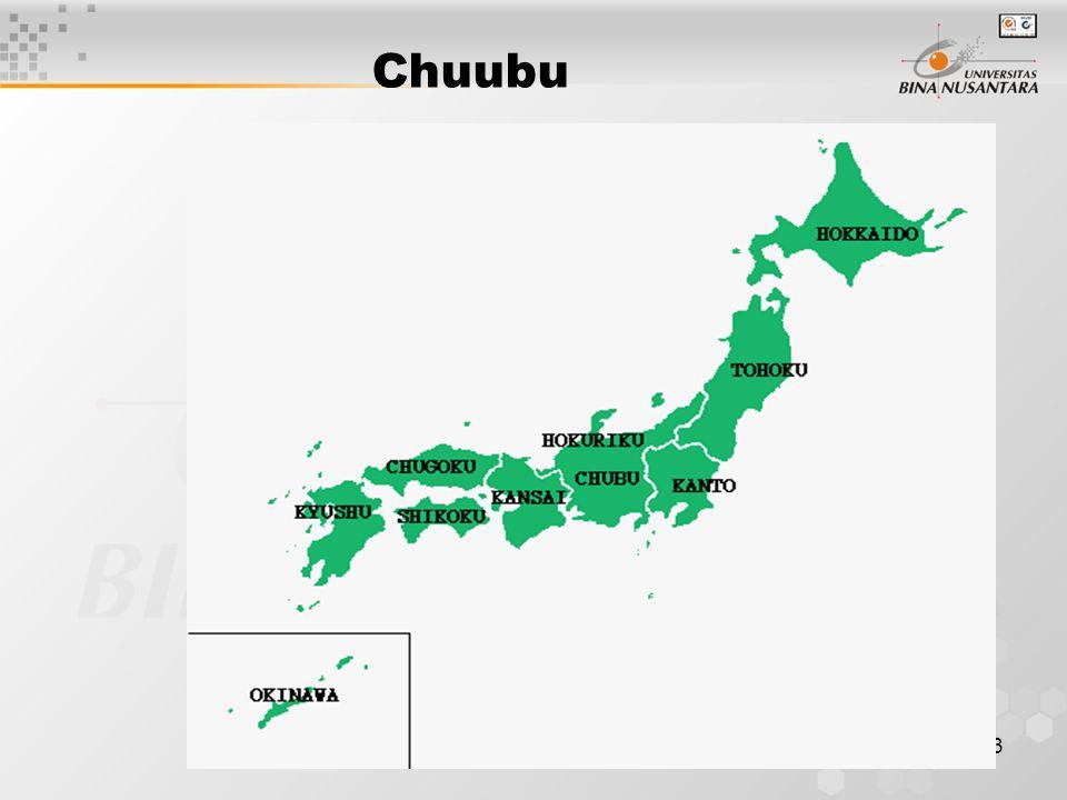 3 Chuubu