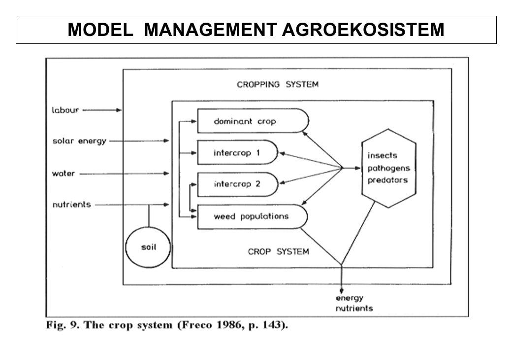 MODEL MANAGEMENT AGROEKOSISTEM