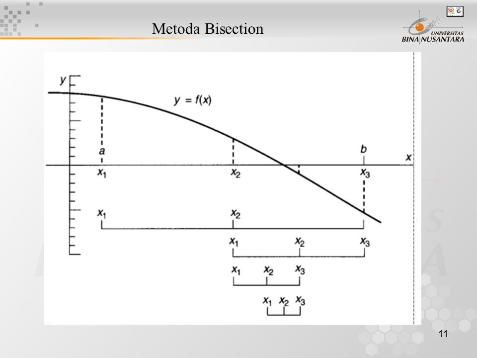 11 Metoda Bisection