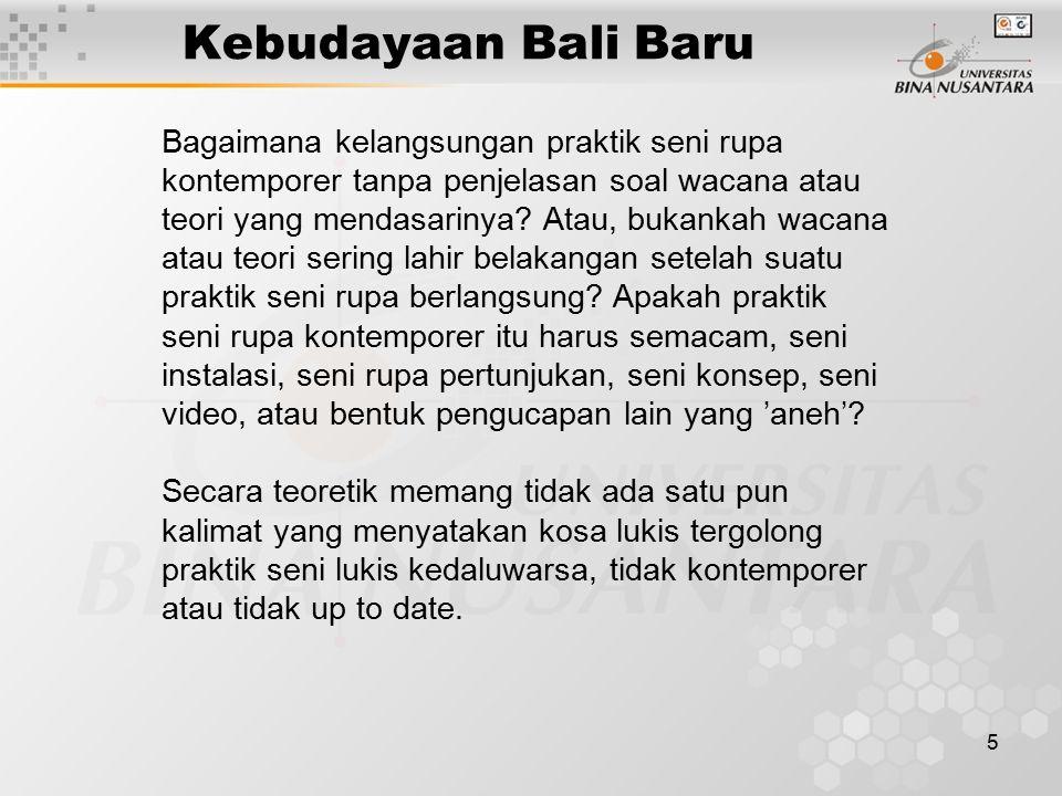 6 Seni Lukis Tradisional Bali Unsur kedamaian dan keindahan, sangat lekat dengan seni lukis tradisional Bali.