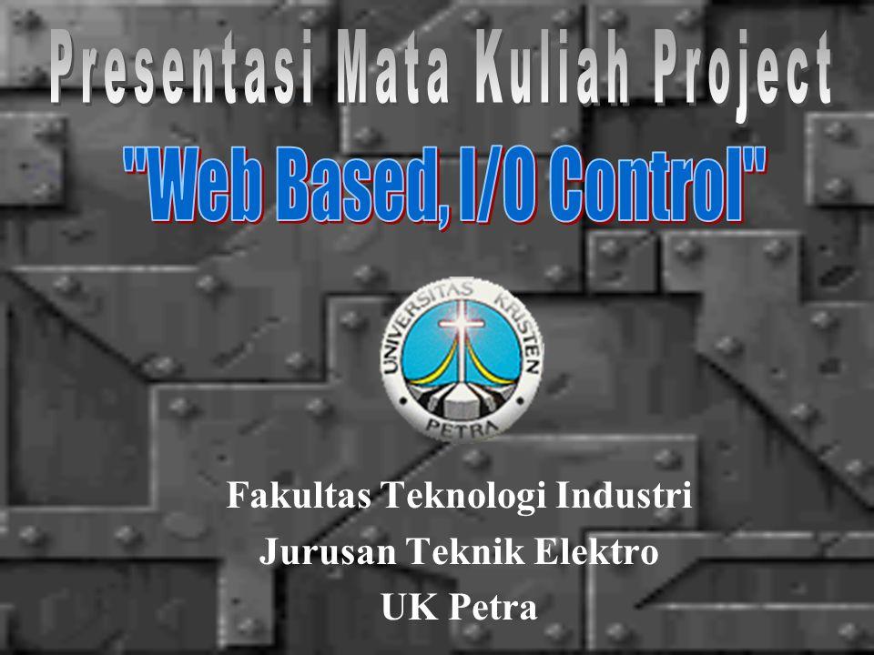 Fakultas Teknologi Industri Jurusan Teknik Elektro UK Petra