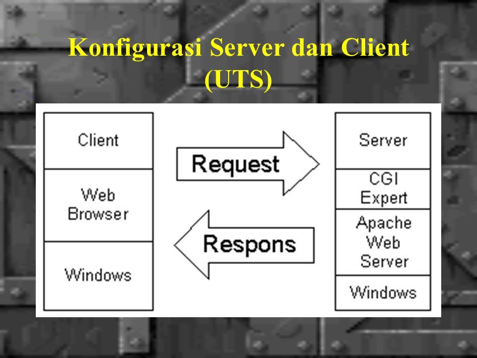 Konfigurasi Server dan Client (UAS)