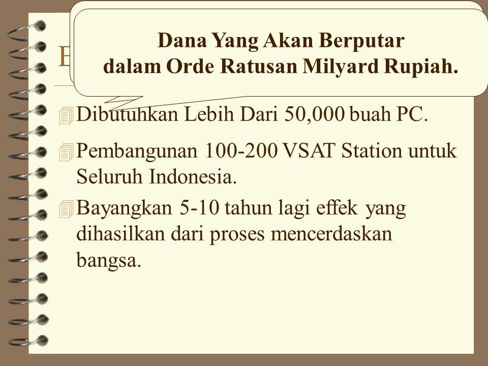 5 Juta Bangsa Indonesia di Internet.
