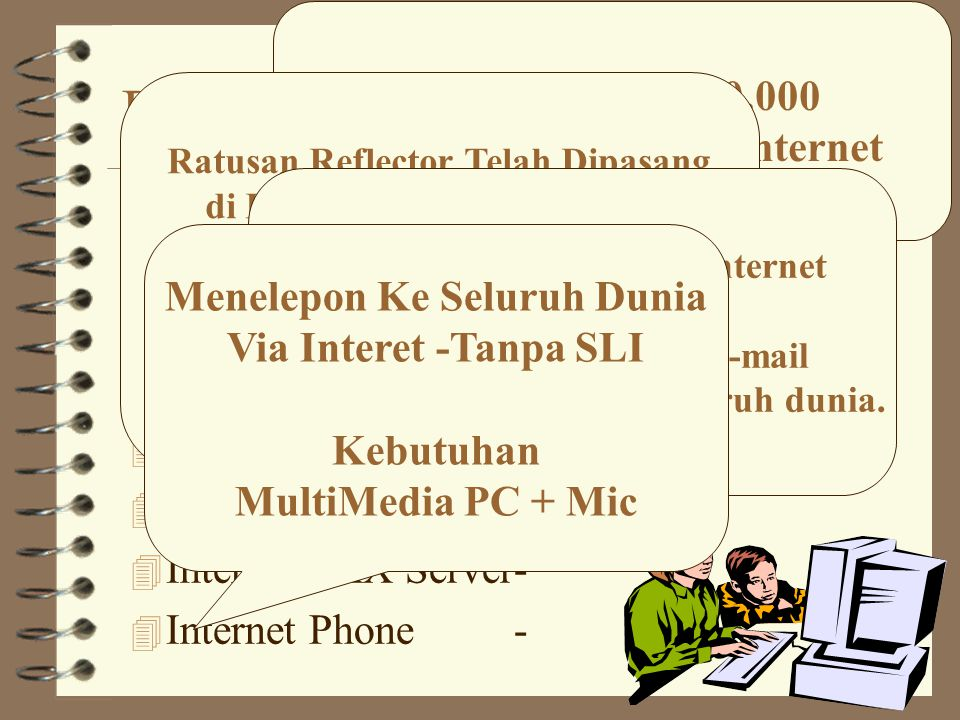 Modem Soundblaster 4 PC running Linux 4 Modem Packet Radio Soundblaster 4 Connect ke Radio 4 Kecepatan 1200bps s/d 9600bps.