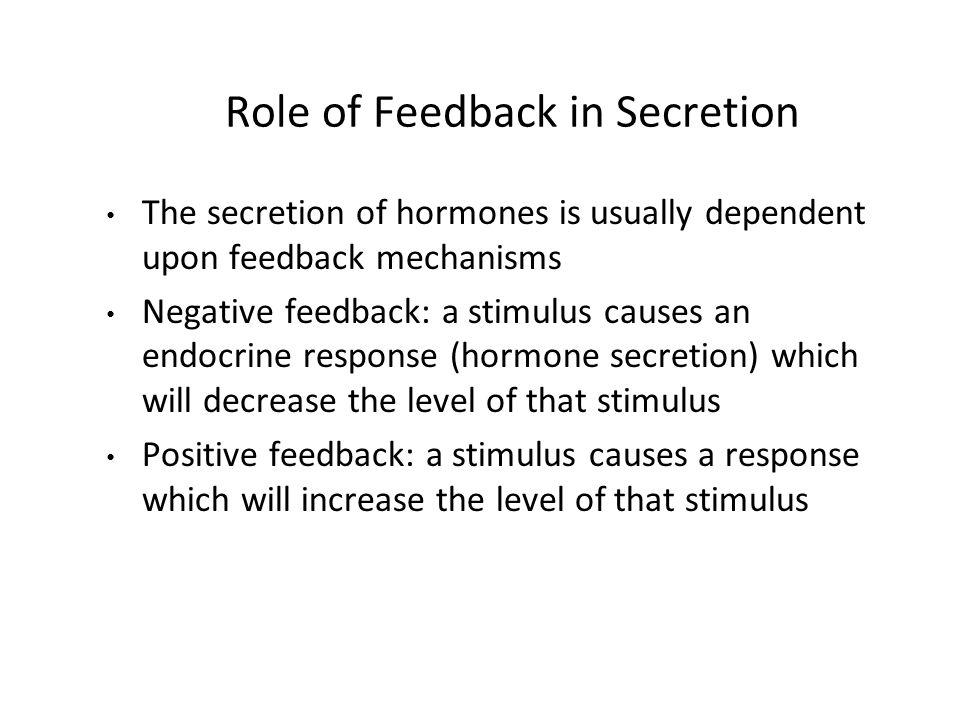 Pengaturan Kadar Hormon Hormon disekresikan tidak sama iramanya Pengaturan kadar hormon sbb: - pengaturan produksi - pengaturan sekresi (seringkali merupakan langkah terpisah) - kadang, pengaturan hormon sesuai denganmetabolisme