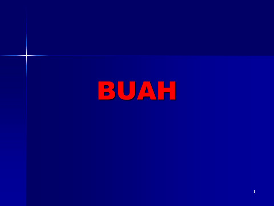 1 BUAH