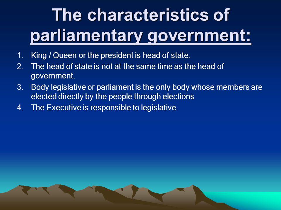 Karena itu Raja, Ratu & Presiden kedudukannya adalah sebagai kepala negara. Selanjutnya yg disebut eksekutif adalah kabinet itu sendiri. Kabinet terdi