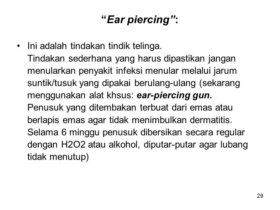 30 INVESTIGASI TELINGA Pemeriksaan terdiri dari: 1.Pemeriksaan fungsi pendengaran dengan: -garpu tala -AUDIOMETRIX HEARING TEST menghasilkan tipe dan tingkatan gangguan pendengaran.