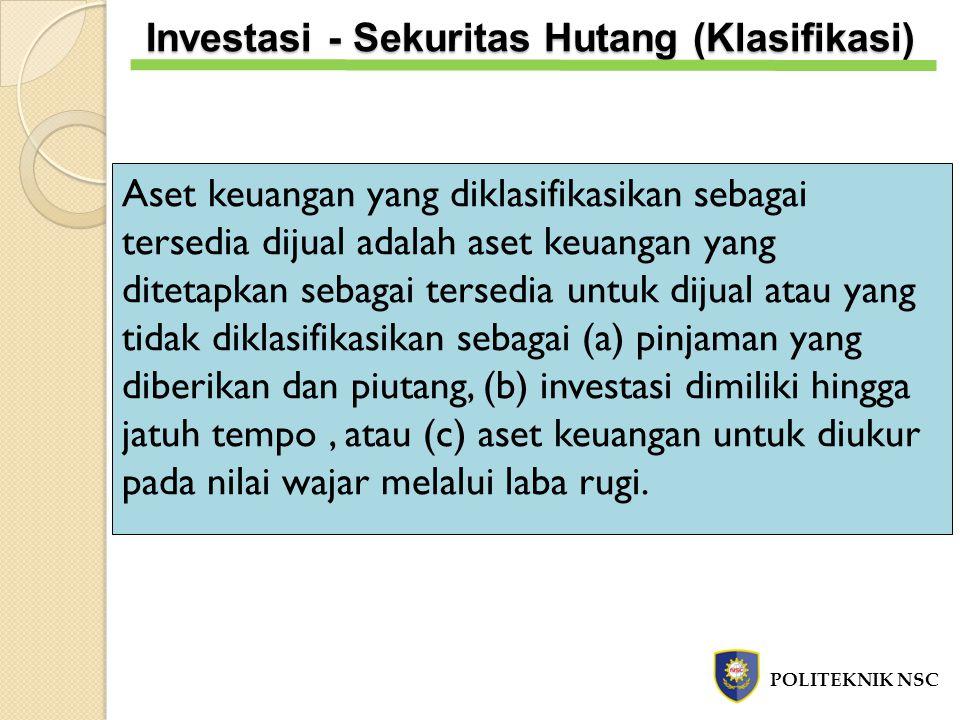Tanggal 1 Oktober 2012, PT MU membeli 100.000 lembar saham biasa PT MC dengan harga pasar Rp1.000 per lembar.