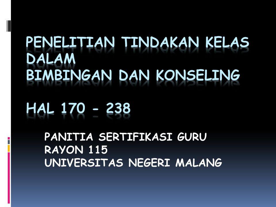 PANITIA SERTIFIKASI GURU RAYON 115 UNIVERSITAS NEGERI MALANG