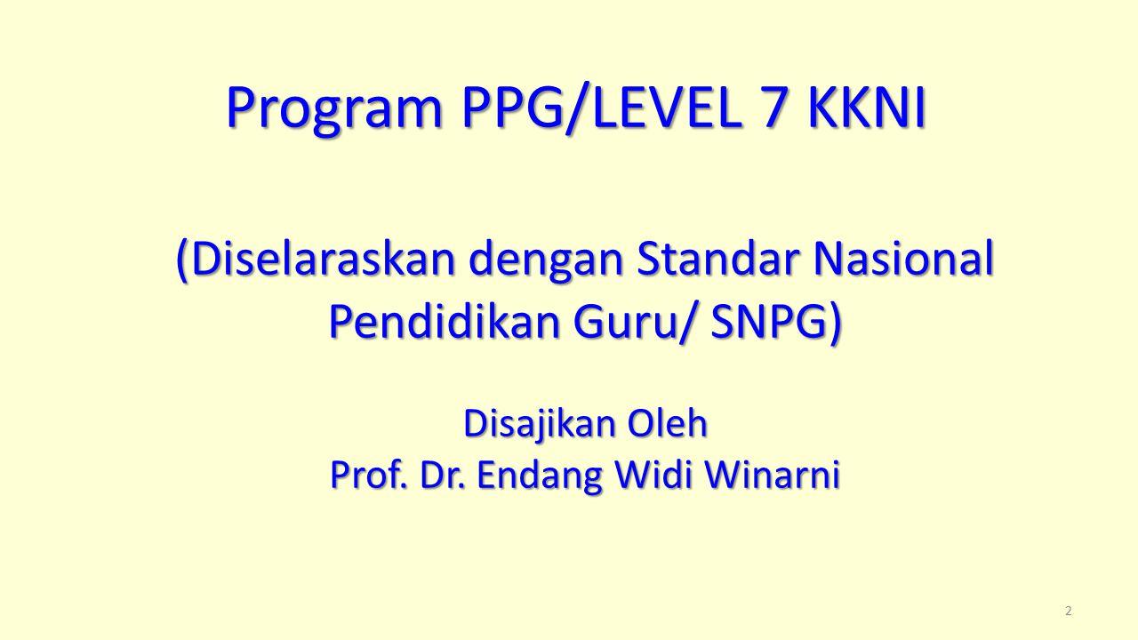 Lanjutan SKL Kompetensi Pedagogik untuk PPG (UMUM) d.