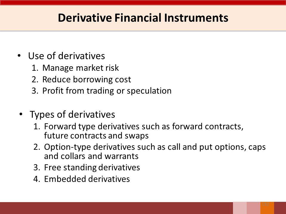 Derivatif Melekat Derivatif melekat merupakan komponen instrumen campuran atau instrumen gabungan Entitas yang diharuskan untuk memisahkan derivatif m