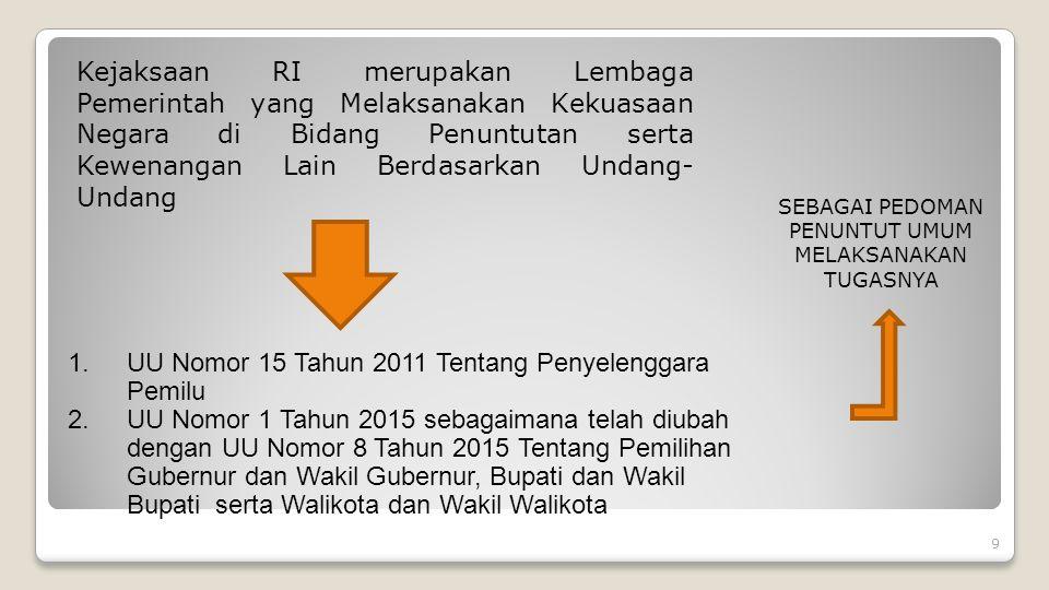 DI DALAM UU NO. 15 TAHUN 2011 TENTANG PENYELENGGARAAN PEMILU DIATUR BEBERAPA PENGERTIAN LEMBAGA ANTARA LAIN: 1. KOMISI PEMILIHAN UMUM, SELANJUTNYA DIS
