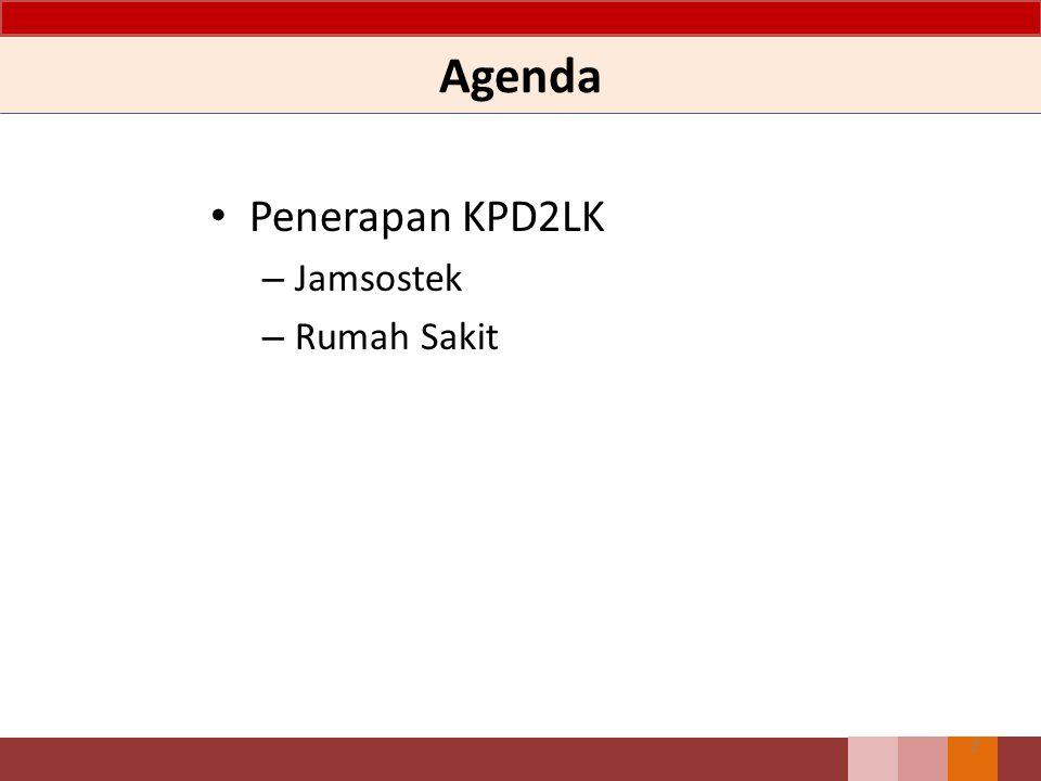 Agenda Penerapan KPD2LK – Jamsostek – Rumah Sakit 2