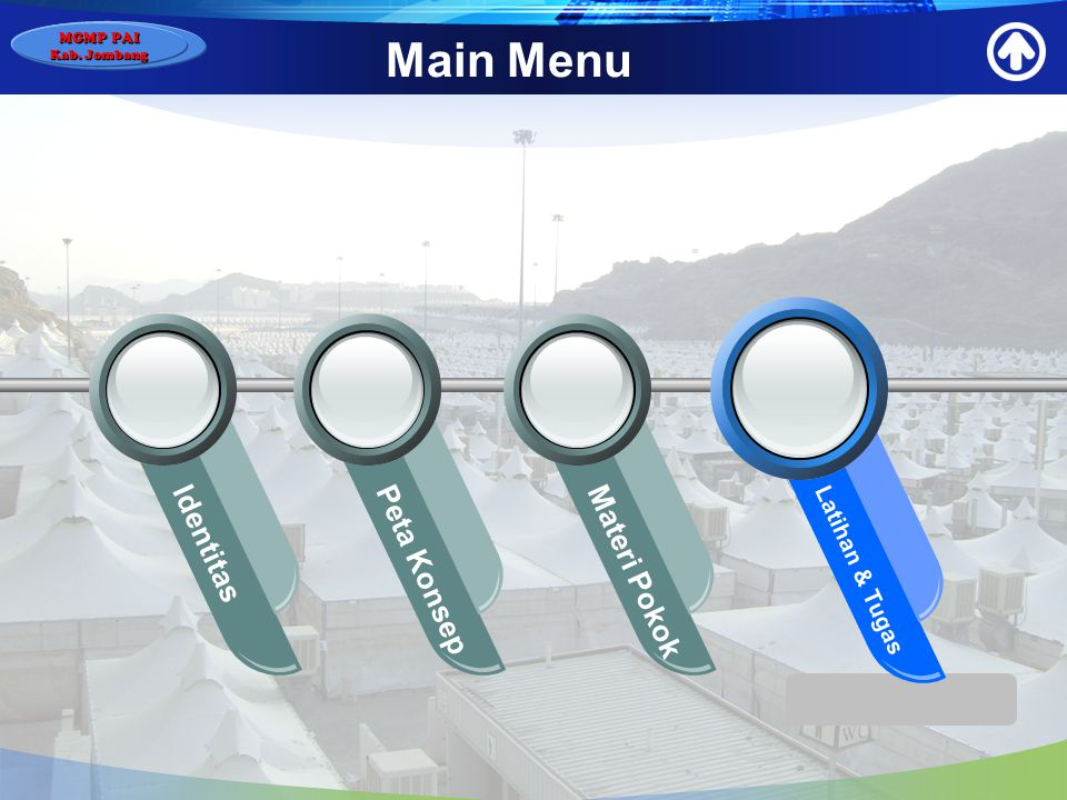 MGMP PAI Kab. Jombang Main Menu Identitas Peta Konsep Materi Pokok Latihan & Tugas