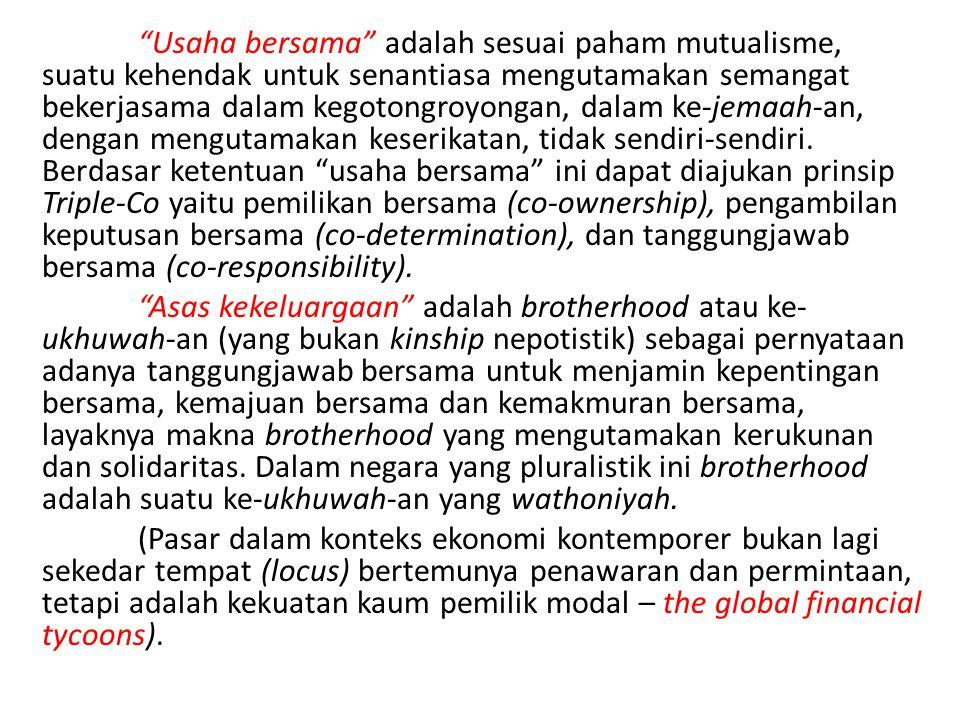 Kita harus kembali ke cita-cita konstitusi, melindungi segenap bangsa Indonesia dan seluruh tumpah darah Indonesia, memajukan kesejahteraan umum dan mencerdaskan kehidupan bangsa.