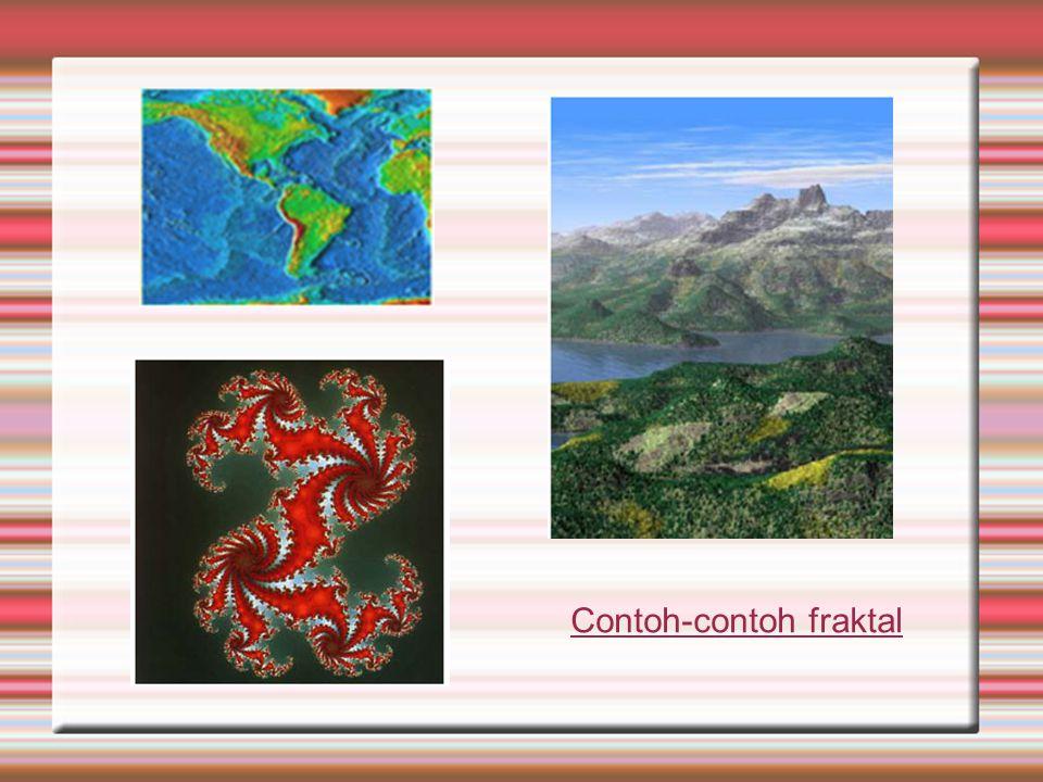 Contoh-contoh fraktal
