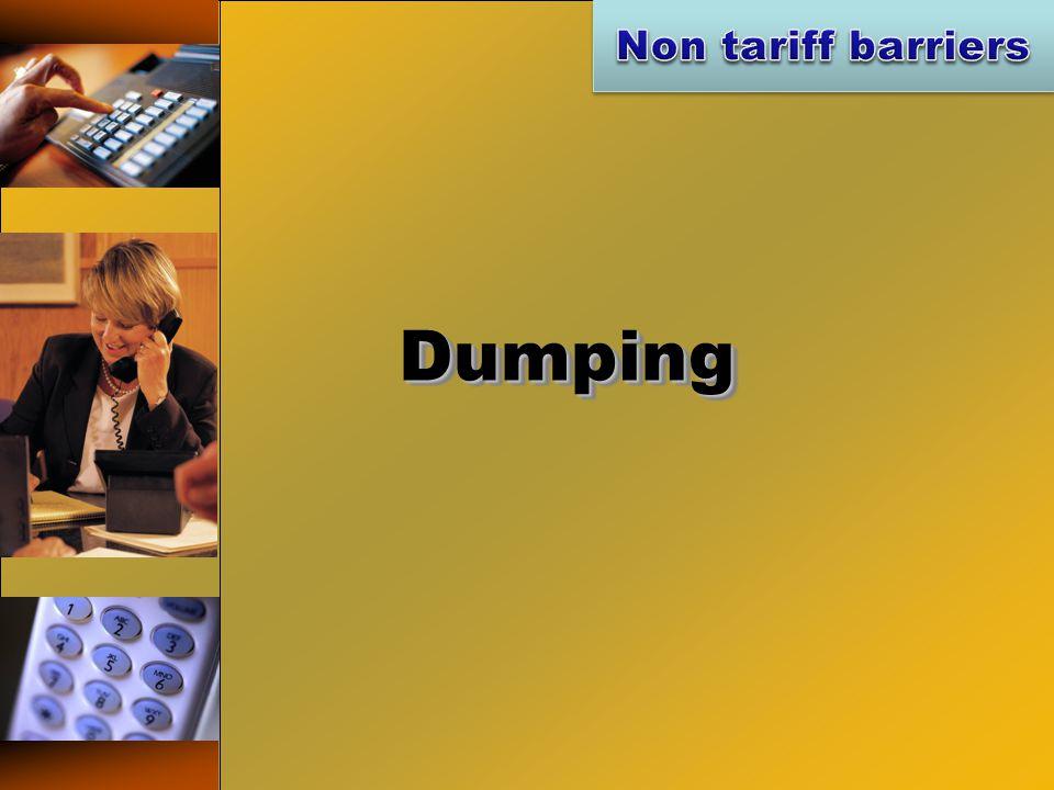 DumpingDumping