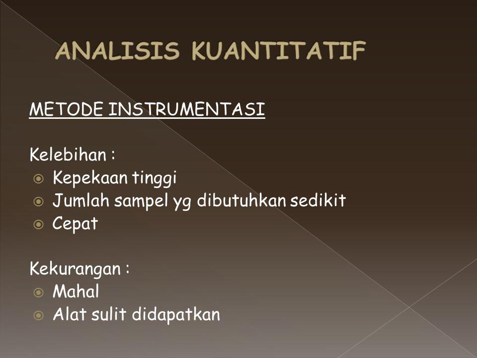 1.a. Sampling, pemilihan sampel agar dapat mewakili material yang akan dianalisis b.