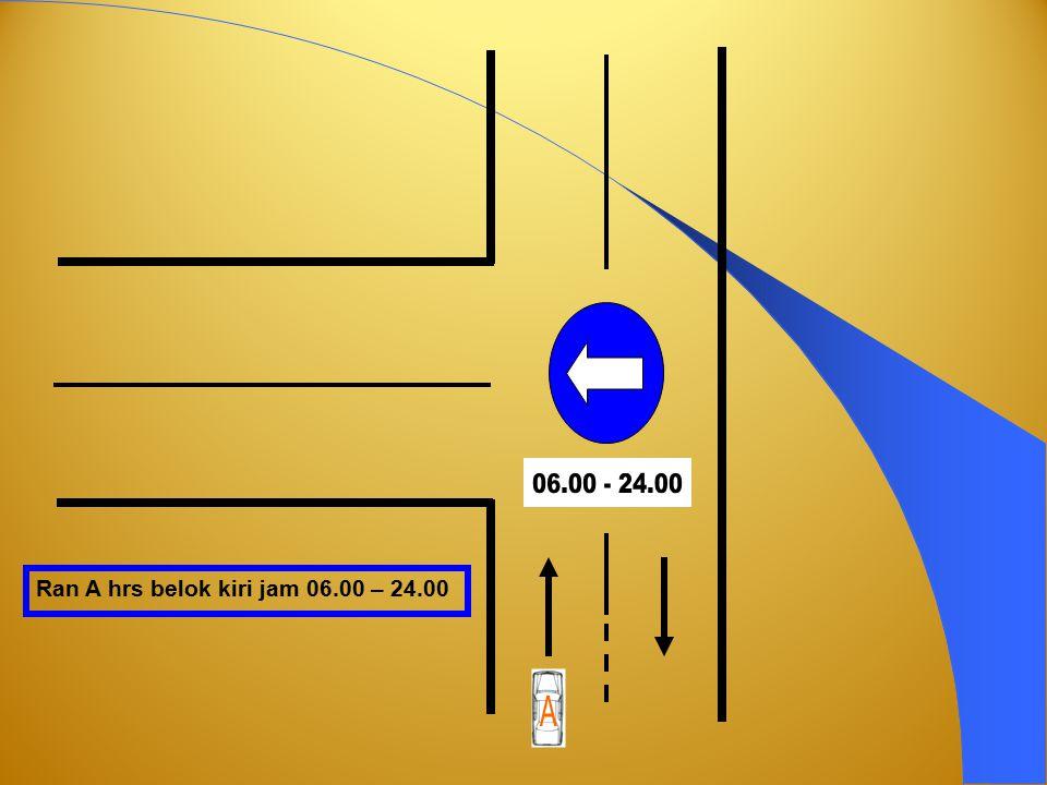 Truck / Bus dilarang putar balik