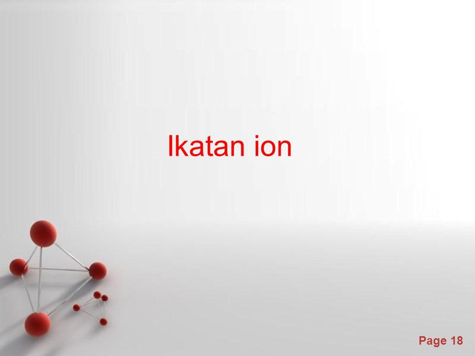 Page 18 Ikatan ion