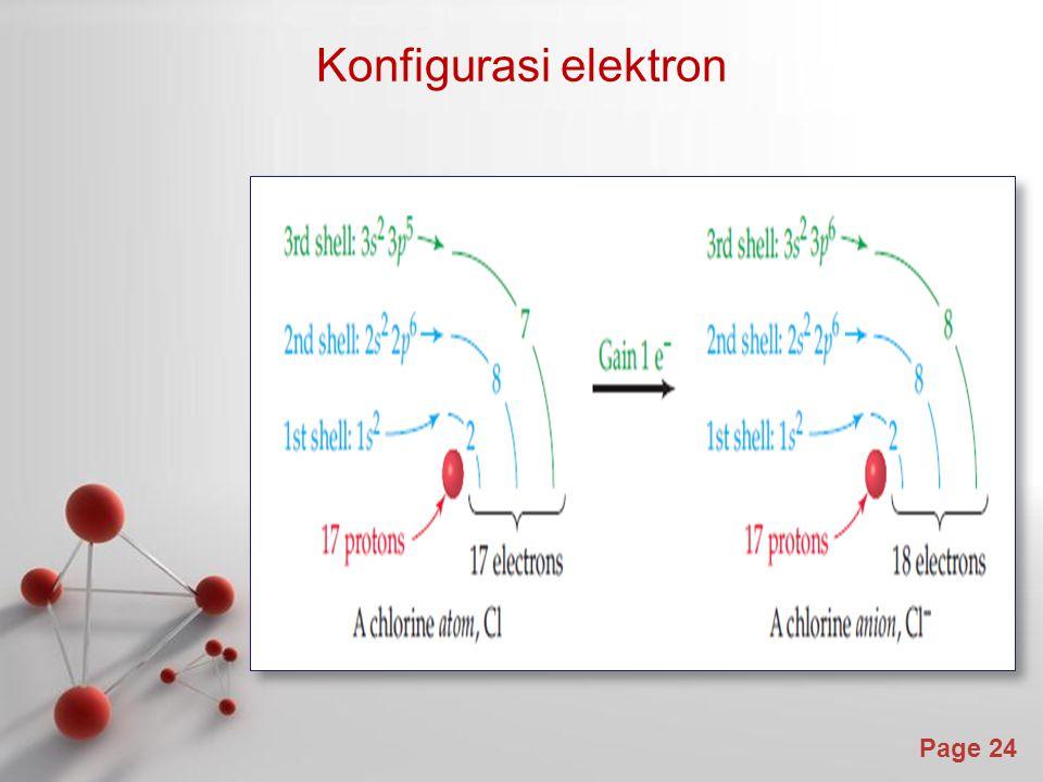 Page 24 Konfigurasi elektron