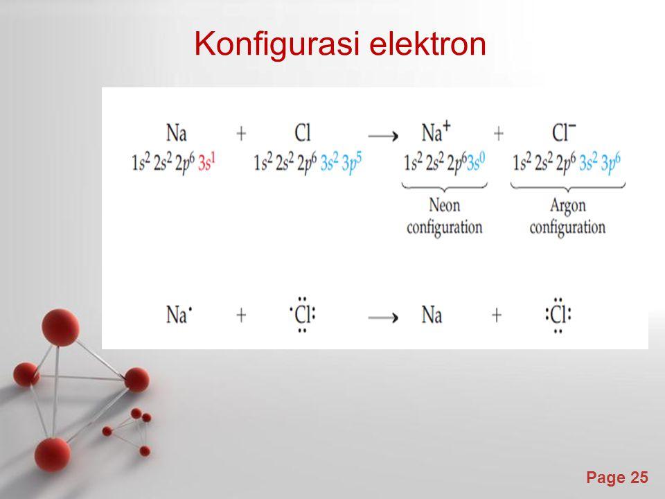Page 25 Konfigurasi elektron