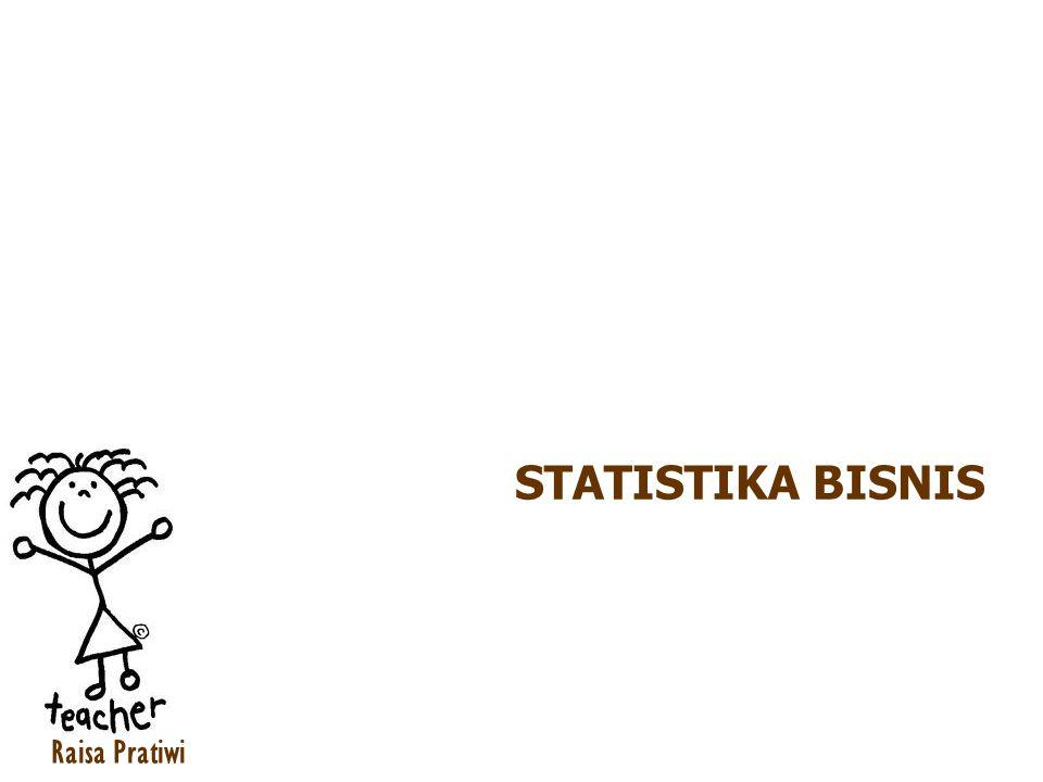 Pengertian Statistika Statistika adalah ilmu mengumpulkan, menata, menyajikan, menganalisis dan menginterpretasikan data menjadi informasi untuk membantu pengambilan keputusan yang efektif.