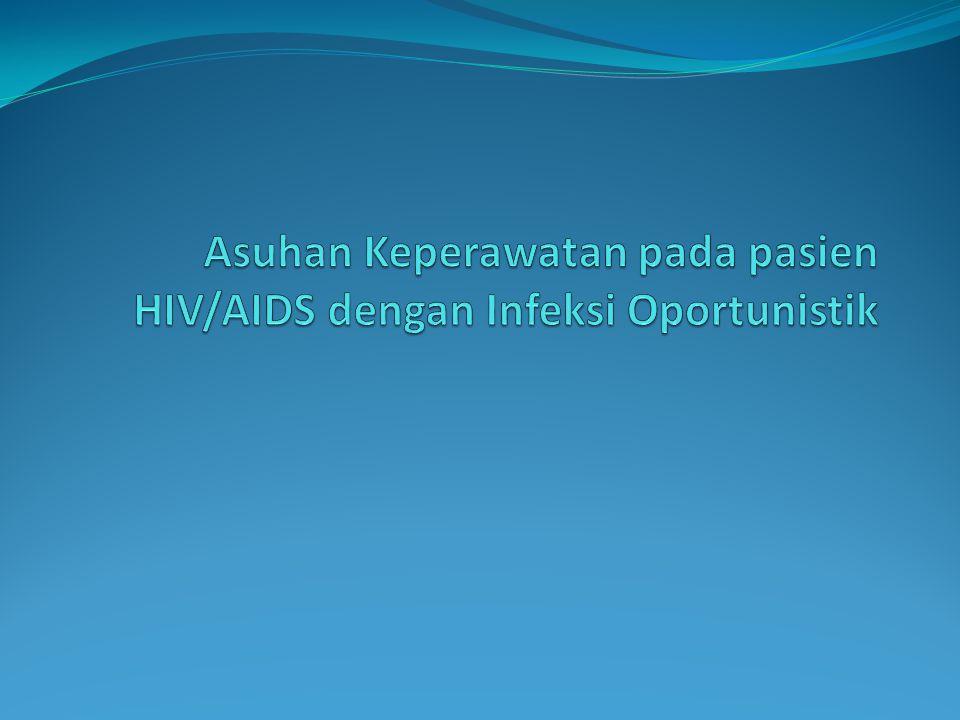 Intervensi Kep dari Dx HIV/TB: 1 & 2 Berikan fisioterapi dada jika perlu Lakukan suction jika perlu Berikan intake cairan 2,5-3L/hari Berikan pengobatan: OAT, ekspektoran, dll