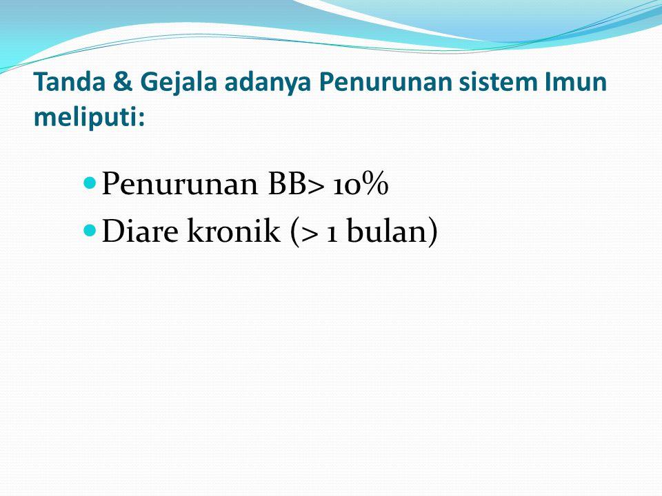 Intervensi Keperawatan dari Dx Diare: 1 & 2 Kaji intake & output Kaji tanda-tanda dehidrasi Berikan intake cairan 2,5-3L/hari Anjurkan pasien tirah baring