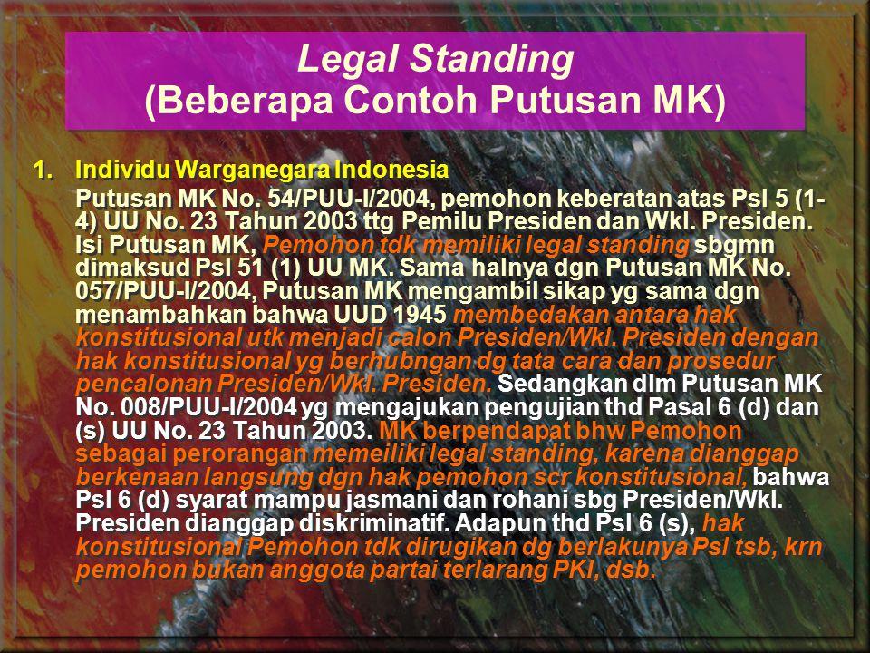 2.Kesatuan Masyarakat Hukum Adat Melalui Putusan MK No.